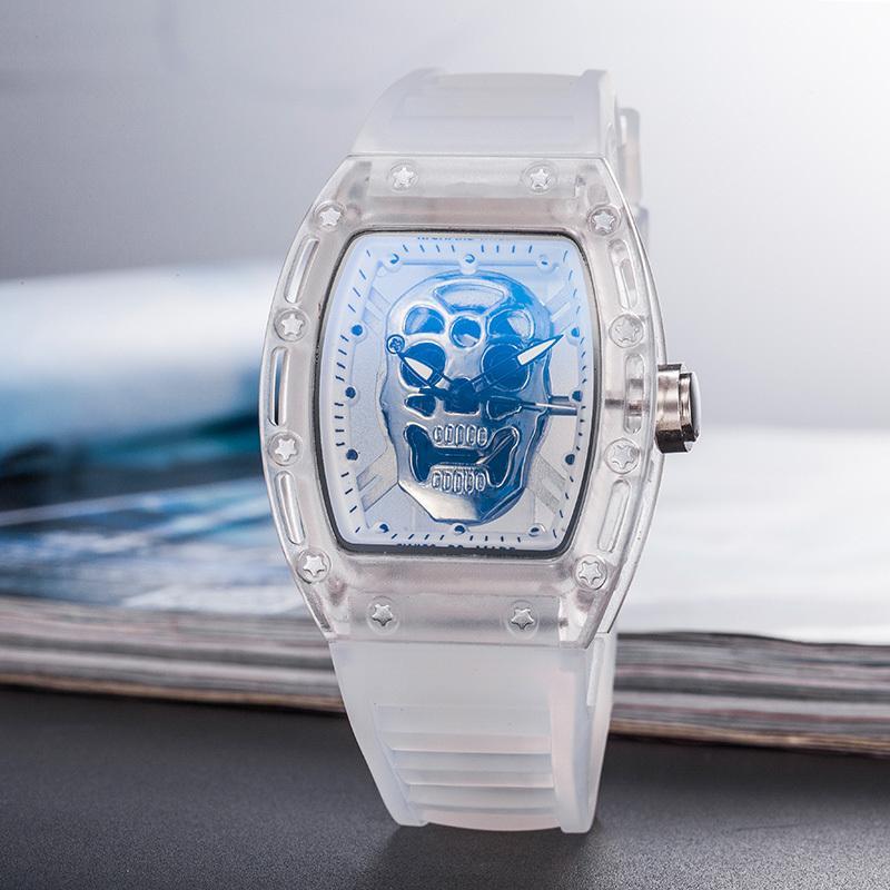 RICHARD MILLE_Rolex CURREN Tentera Darat Tentera Jam Tangan Kuarza Mens Top Jenama Mewah Kulit Lelaki Jam Tangan Kasual Sukan Jam Lelaki jam tangan Lelaki Jam Tangan Sukan Kuarsa bán chạy