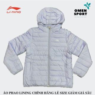 [TRÁI MÙA GIẢM GIÁ] Áo khoác phao nữ mùa đông Lining chính hãng OMEN SPORT AJMN016-5 dày dặn, dáng đẹp màu sang cho chị em khi mùa đông về thumbnail