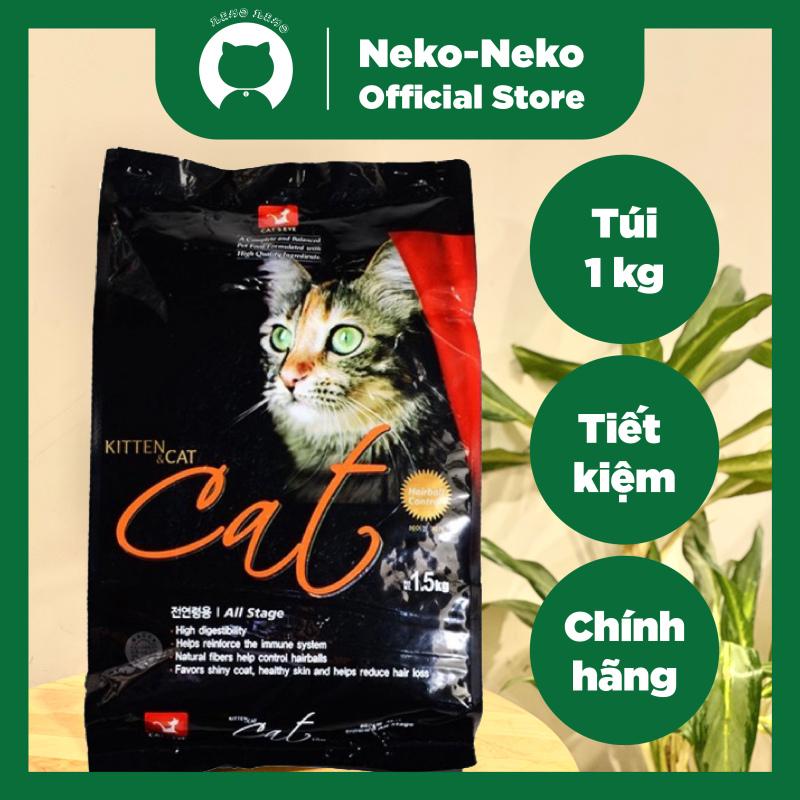 Thức ăn hạt khô cho mèo Cateyes nhiều dinh dưỡng túi chiết 1 kg | Cats eye - Cat eye - Catseye