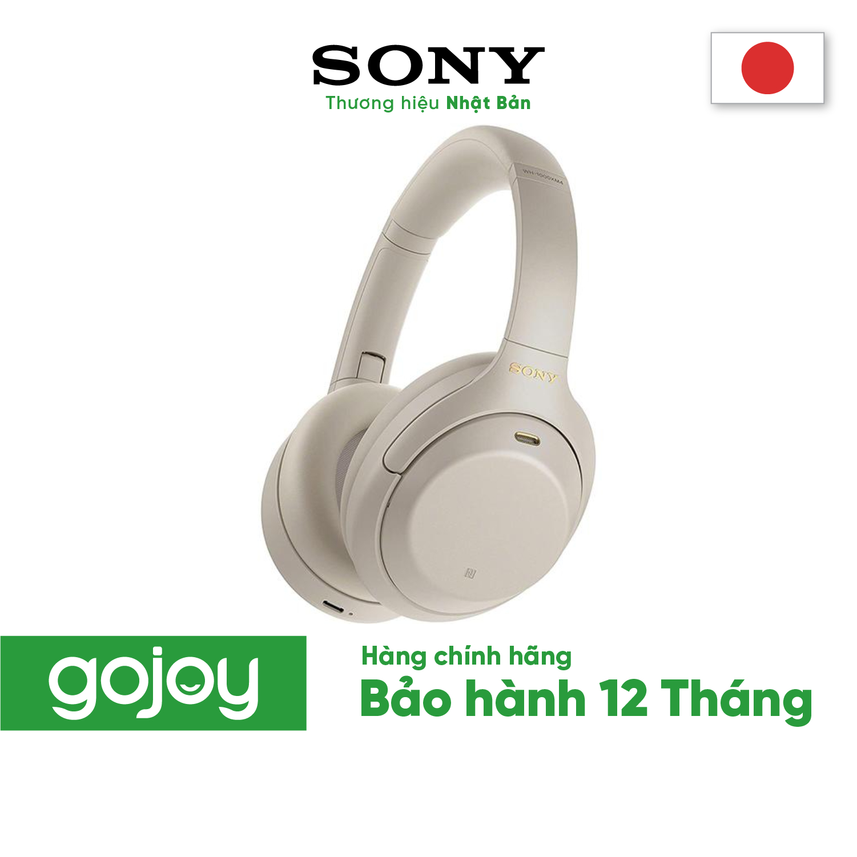 Tai nghe SONY WH-1000XM4 Không dây Chống ồn chủ động 2 Màu Đen,Trắng- Bảo hành 12 tháng chính hãng