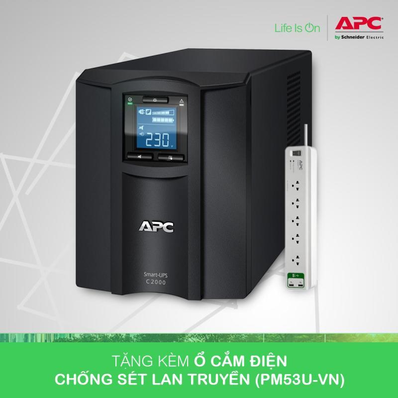 Bảng giá [Khuyến Mãi] - Bộ lưu điện:  Smart-UPS C 2000VA LCD 230V - SMC2000I Phong Vũ