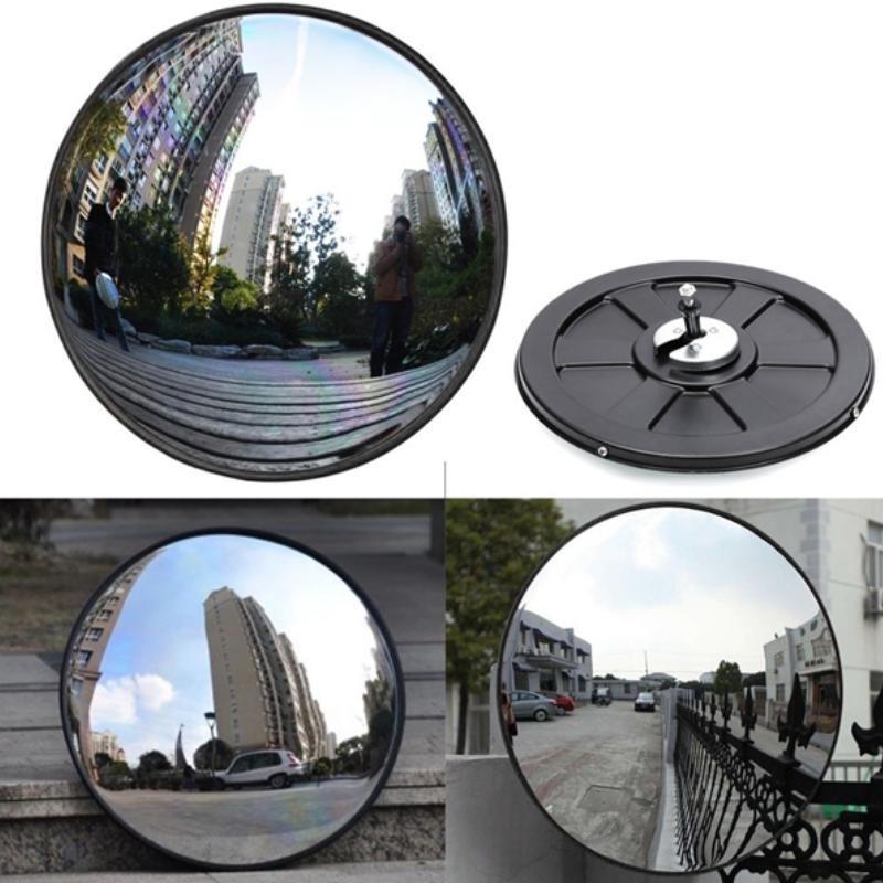 Gương Cầu Lồi Phong Thủy 18.5cm  - Phong Thủy Gia Đình  206698 - Black -  FS