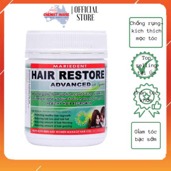 [HCM](Hàng Auth có Bill) Viên uống mọc tóc Hair Restone Advanced 60 viên