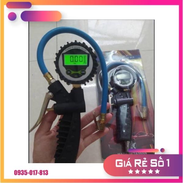 Đồng hồ bơm lốp điện tử ô tô - xe máy