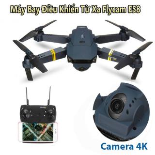 Flycam, Flycam Mini, Flycam Full 4K Quay Phim Chụp ảnh 4K, Máy Bay Điều Khiển Từ Xa FLYCAM E58 Kết Nối Wifi Quay Phim Chụp ảnh 4K,Hợp Cho Phép Người Chơi Ghi Lại Video Fpv, Chụp ảnh Trên Không chất lượng cao thumbnail