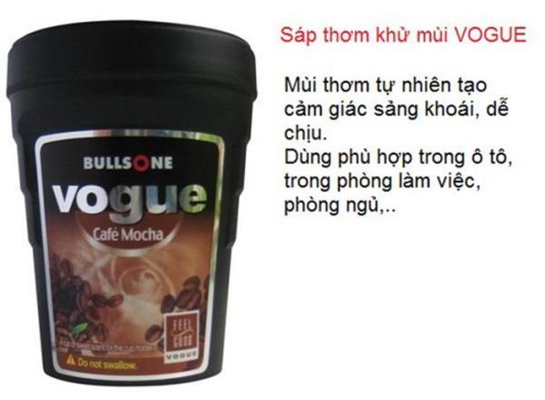 Sáp thơm Cafe Hàn quốc Bullsone Vogue dạng cốc để trên xe hơi