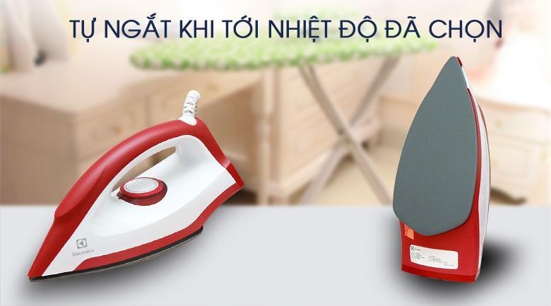 Bàn ủi Khô Electrolux EDI1004 Giá Giảm