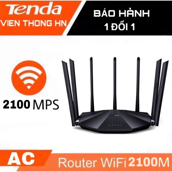 Thiết bị phát Wifi chuẩn AC 2100Mbps Tenda AC23 AC11 AC7 AC5S ... model wifi 7 râu - bộ phát sóng kích sóng nối sóng khuếch đại wifi xuyên tường moden wifi - vienthonghn