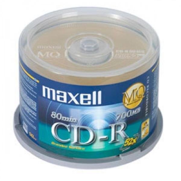 Bảng giá Đĩa trắng ,Đĩa cd trắng MAXCELL hộp 50 cái dung lượng 700mb Phong Vũ