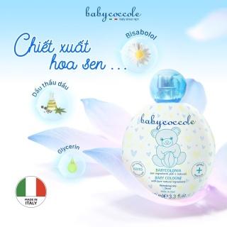 Nước Hoa cho Bé Babycoccole 0M+ Chiết Xuất Hoa Sen 100ml thumbnail