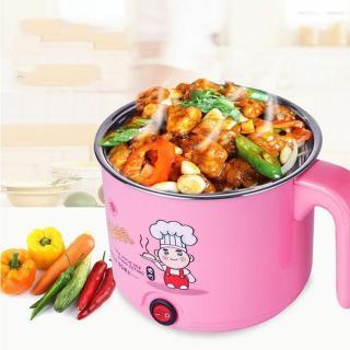(GIAO MÀU NGẪU NHIÊN)Nồi lẩu điện mini 18cm dùng nấu mì, nấu lẩu, luộc trứng, nấu canh, nấu nước sôi siêu tiện lợi thumbnail