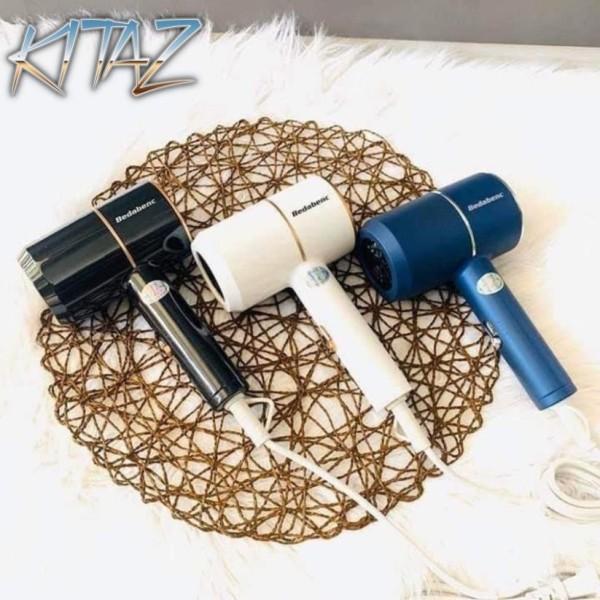 [Hàng Nội Địa Trung] Máy sấy tóc hai chiều mini Bedabenc kiểu dáng thời trang công suất 1000W có móc treo tường