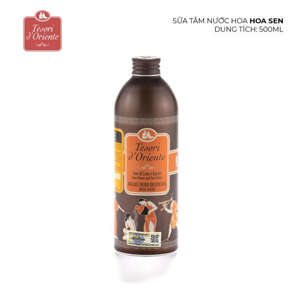 Sữa tắm nước hoa Tesori dOriente Hoa Sen 500ml