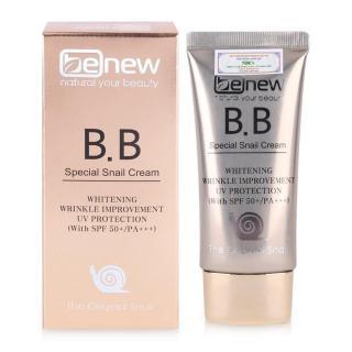 Kem nền trang điểm BB Benew Special Snail Cream chiết xuất ốc sên 50ml thumbnail