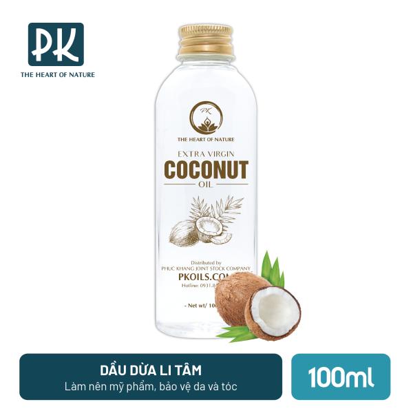 Dầu dừa ly tâm extra cao cấp PK 100ml nhập khẩu