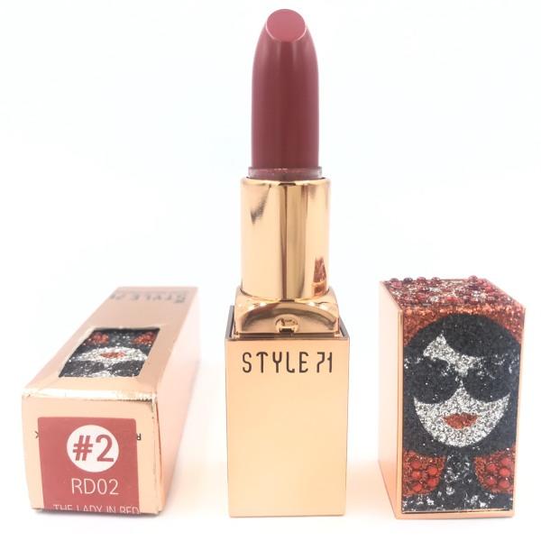 Son lì Hàn Quốc Style 71 Retro Matte Lipstick. Son thỏi lì mịn như nhung dành cho bạn gái. Dòng son trang điểm Hàn Quốc được ưa chuộng cao cấp