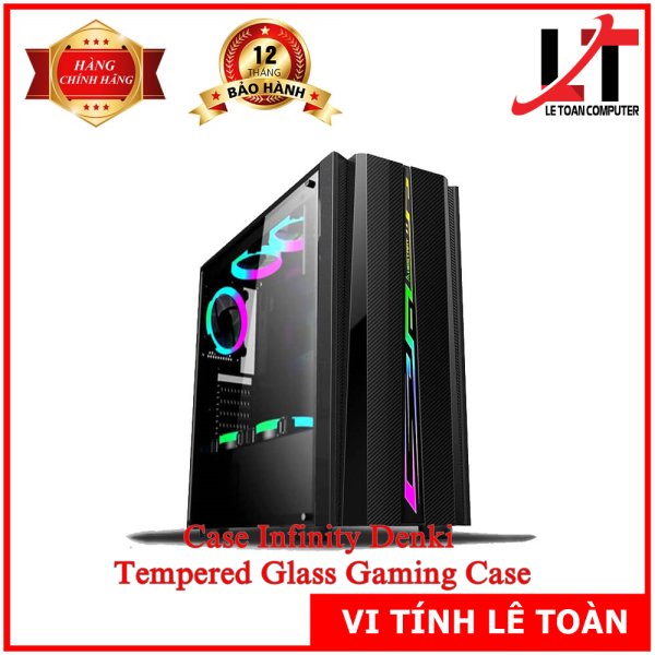 Case Infinity Denki - Tempered Glass Gaming