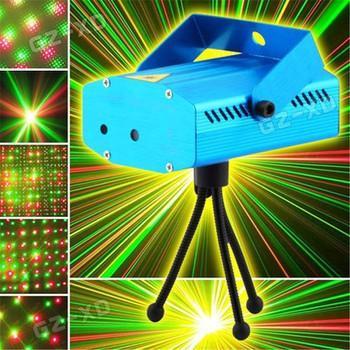 Đèn LED/ Đèn Chiếu Laser Vũ Trường Mini Cảm Biến âm Thanh (Xanh Dương) Có Giá Siêu Tốt