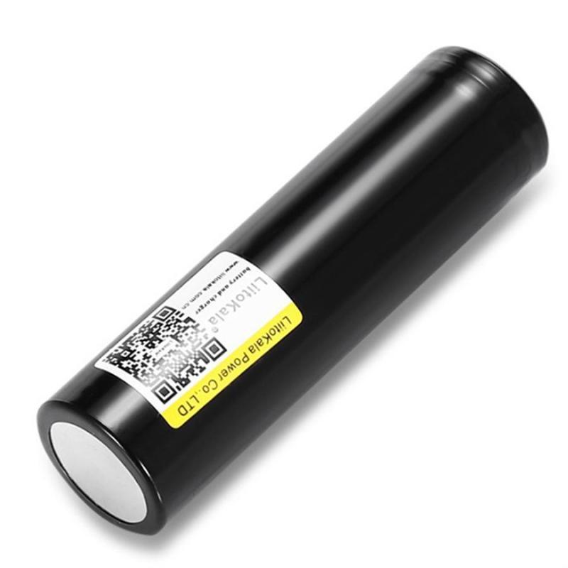 Pin sạc Lithium 18650 Liitokala 2200mAh xả 10A cho box sạc dự phòng, đèn pin, quạt sạc mini...