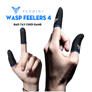 [ HÃNG PHÂN PHỐI CHÍNH THỨC] Flydigi Wasp Feelers 4 Găng tay chơi game Mobile siêu nhạy, siêu co dãn, siêu mỏng nhẹ như chơi tay trần, Bao tay chơi Game, Ngón tay chơi game -Loại cao cấp thumbnail