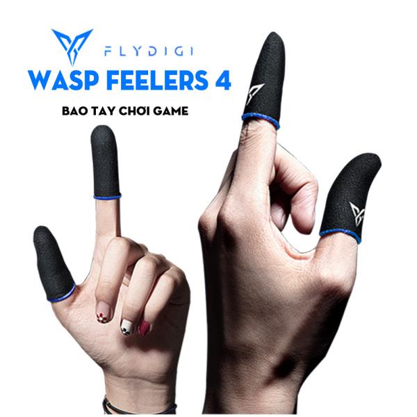 Bao tay chơi game Flydigi Wasp Feelers 4 | Găng tay chơi game PUBG, Liên quân, chống mồ hôi, cực nhạy