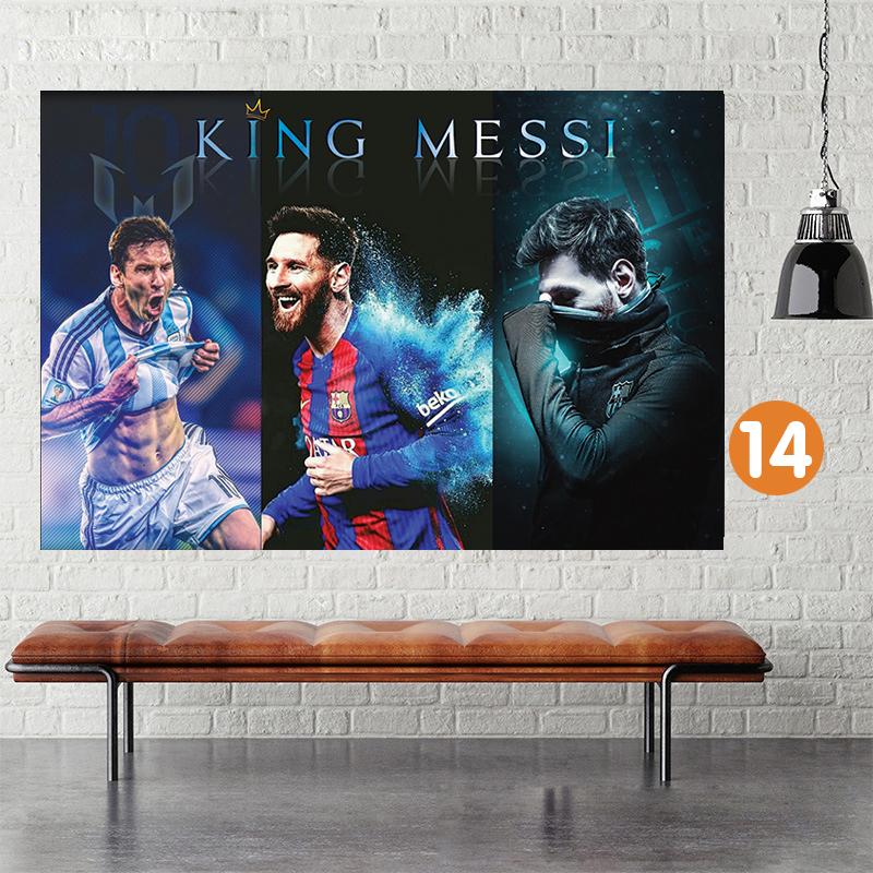 Decal Dán Tường Messi Giá Siêu Rẻ