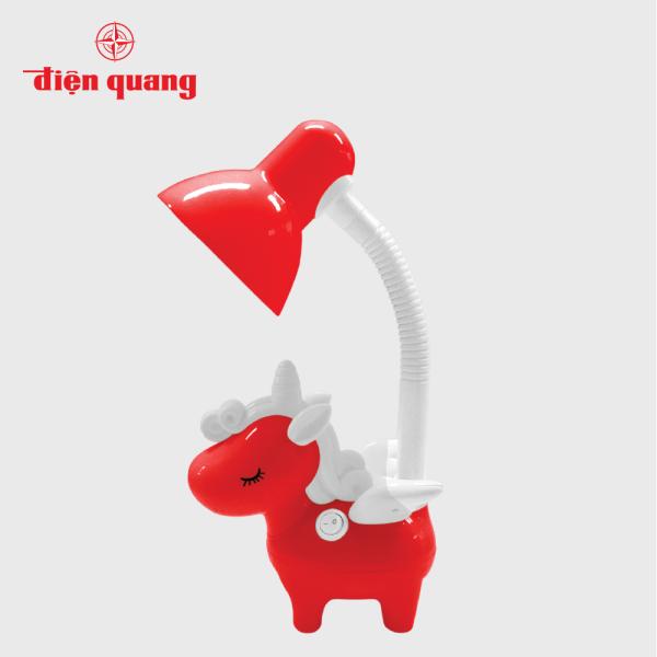Đèn bàn bảo vệ thị lực Điện Quang ĐQ DKL16 BW (Kiểu con kỳ lân, bóng led warmwhite))