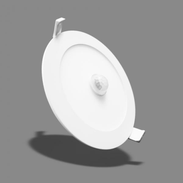 Đèn LED Slim Downlight Cảm Biến 12W NSD126S Ánh Sáng Trắng – Angel 120°