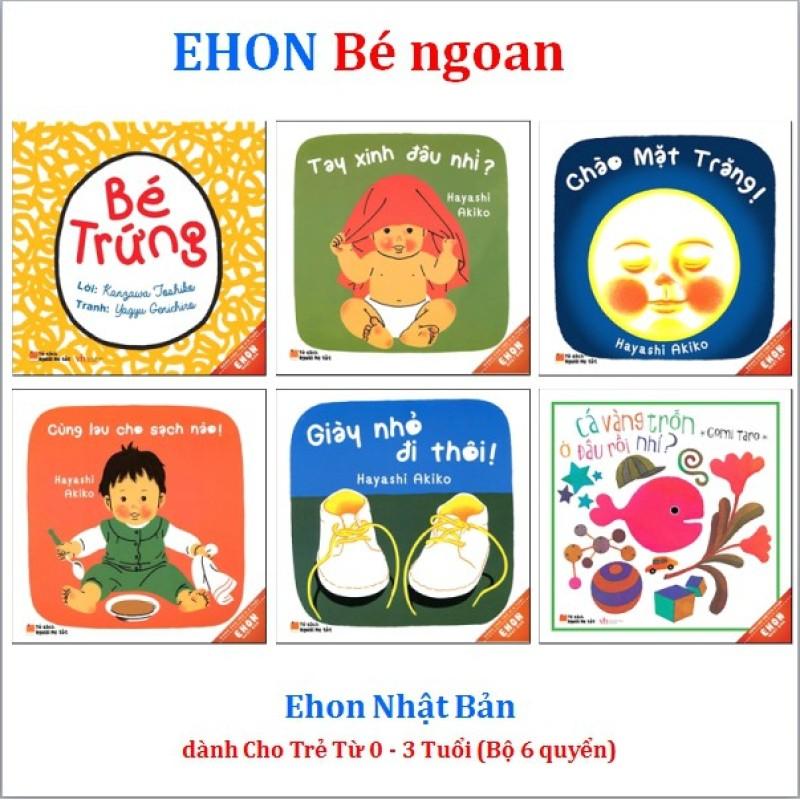Mua Sách - Ehon Nhật Bản bé ngoan dành cho bé từ 0 - 3 tuổi (Bộ 6 quyển)