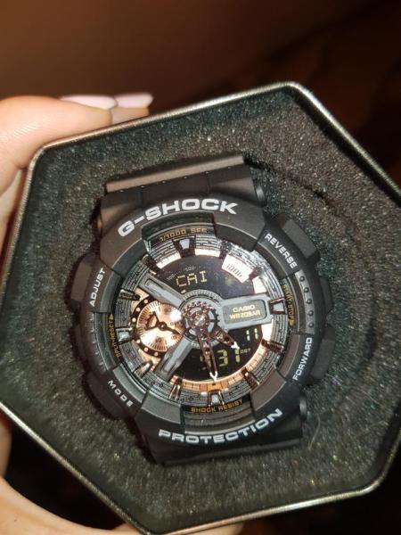 Đồng hồ nam G-Shock GA-110RG-1A  Đen đồng bảo hành 6 tháng siêu chống nước + Tặng kèm pin dự phòng + PHỐ ĐỒNG HỒ bán chạy
