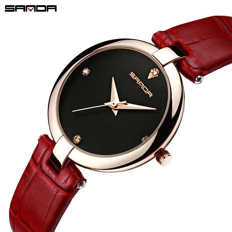 Nơi bán Đồng hồ nữ SANDA  P196 - Đính Kim Cương Nhân Tạo