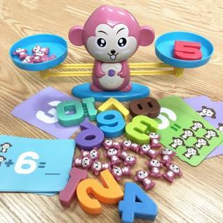 Bộ đồ chơi khỉ cân thăng bằng giúp bé say mê học Toán loai dep thumbnail