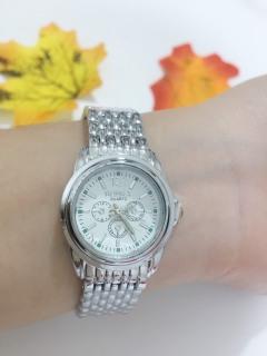 Đồng hồ thời trang nam nữ thông minh Rosra bạc cực đẹp ZO60 thumbnail
