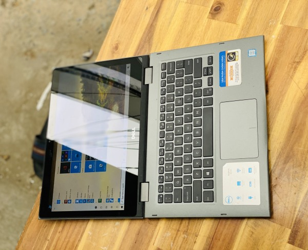 Bảng giá [HCM][Trả góp 0%]Laptop Dell Inspiron 5379  i5 8250U 8G SSD256 Full HD Đèn phím Touch Xoay 360 độ Giá rẻ Phong Vũ