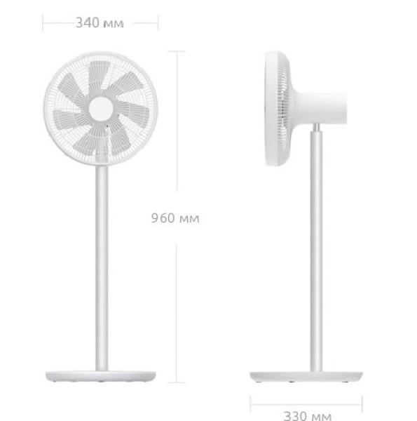 Quạt tích điện thông minh Xiaomi Zhimi Gen 2s ( bản nội địa China 100% )