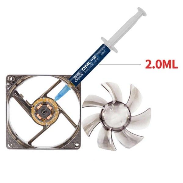 Dầu chuyên dụng bôi trơn quạt QML-2 Lubricant 2ml