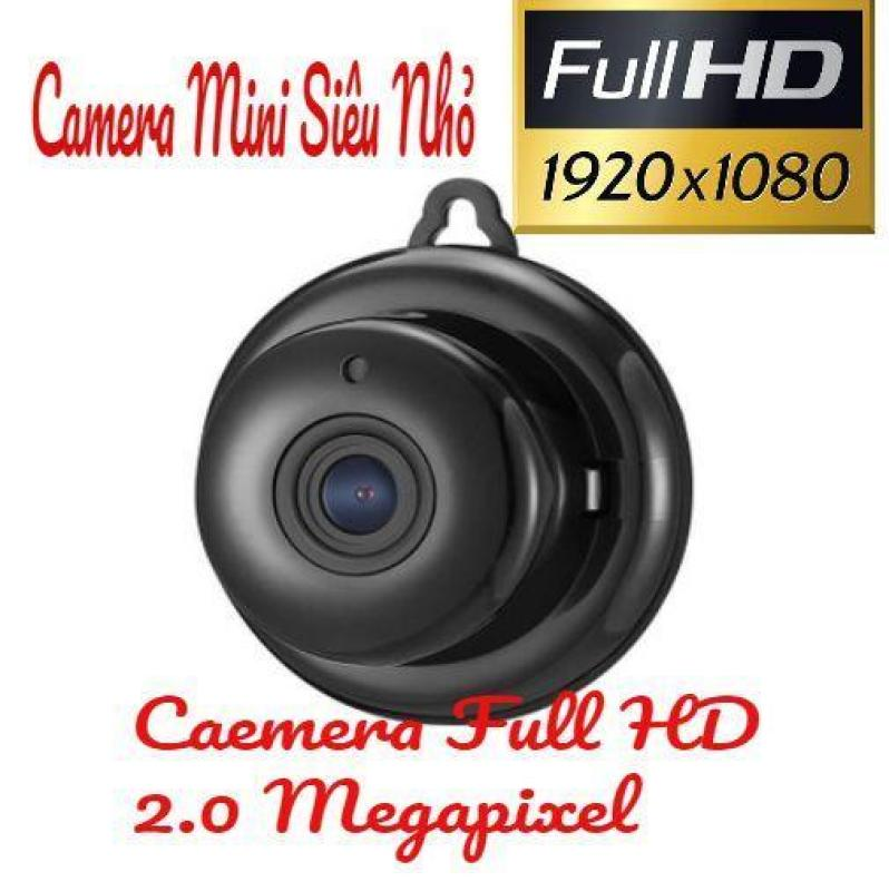 Camera IP Wifi Không Dây Mini Full HD 1080P có báo động chống trộm (tặng kèm cục nguồn 5V)