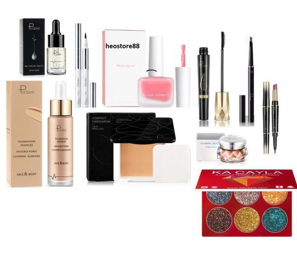 Bộ trang điểm 10 món pudaier make up dành cho nàng