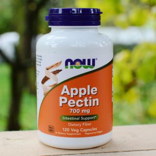 Viên uống Now Apple Pectin tăng cường tiêu hóa, tim mạch, hạ mỡ máu của Mỹ ( Hộp 120 viên) thumbnail