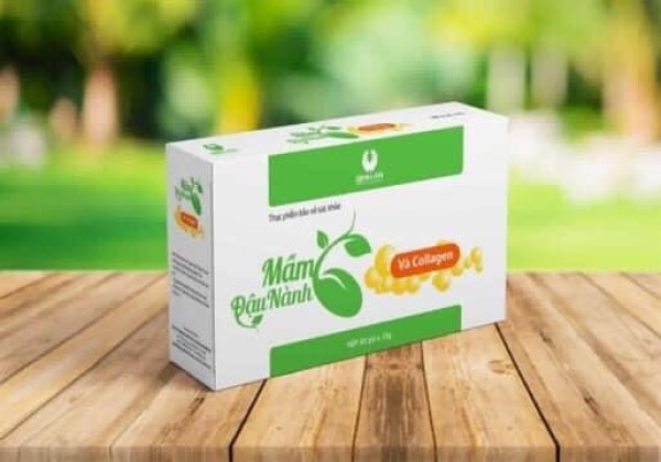 Mầu đậu nành Collagen Linh Spa