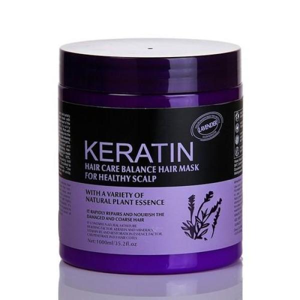 Kem hấp, ủ tóc Keratin 1000ml - Cho Tóc Khỏe, Hương Lavender