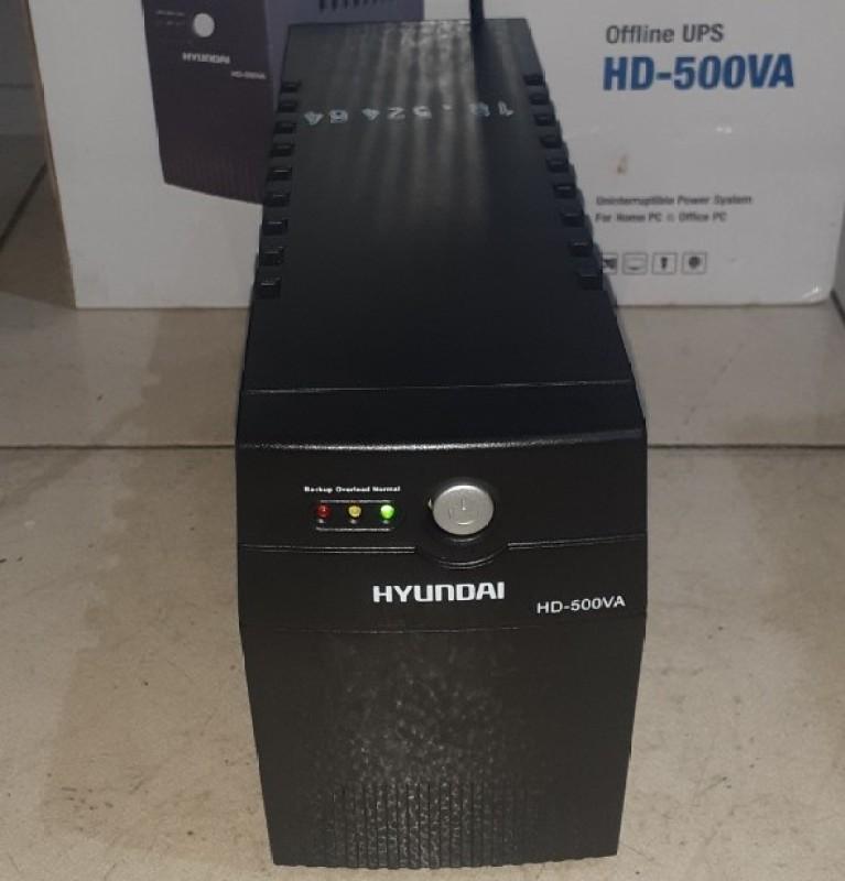 Bảng giá Hyundai HD 500VA - Bộ lưu điện (UPS) 500VA (Fullbox - BH: 12 tháng) Phong Vũ