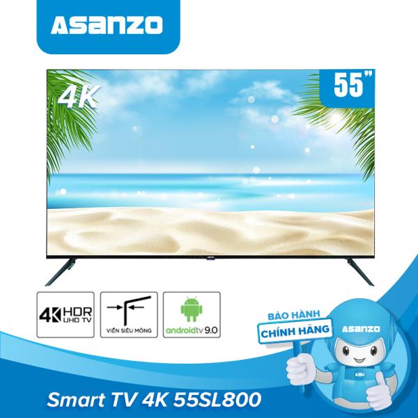Bảng giá Smart tivi Asanzo 55SL800 iSLIM 4K 55 inch [ New 2020] - Hàng chính hãng bảo hành 2 năm