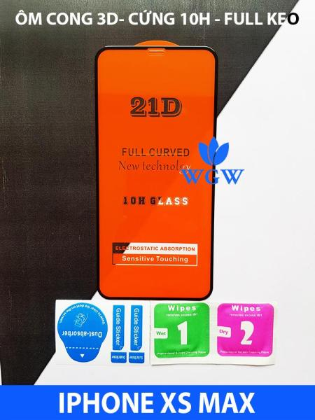 Giá (ĐỦ DÒNG) KÍNH CƯỜNG LỰC 21D CHO IPHONE FULL KEO FULL MÀN HÌNH - WGW STORE