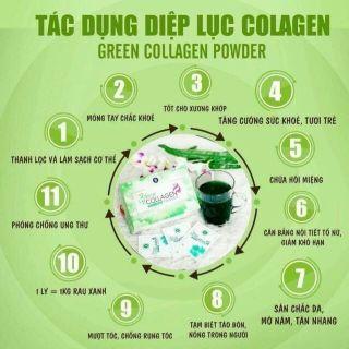 diệp lục collagen hộp 30 gói thumbnail