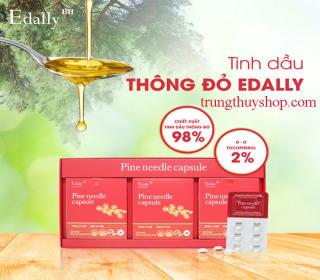 TINH DẦU THÔNG ĐỎ EDALLY - PINE NEEDLE CAPSULE thumbnail