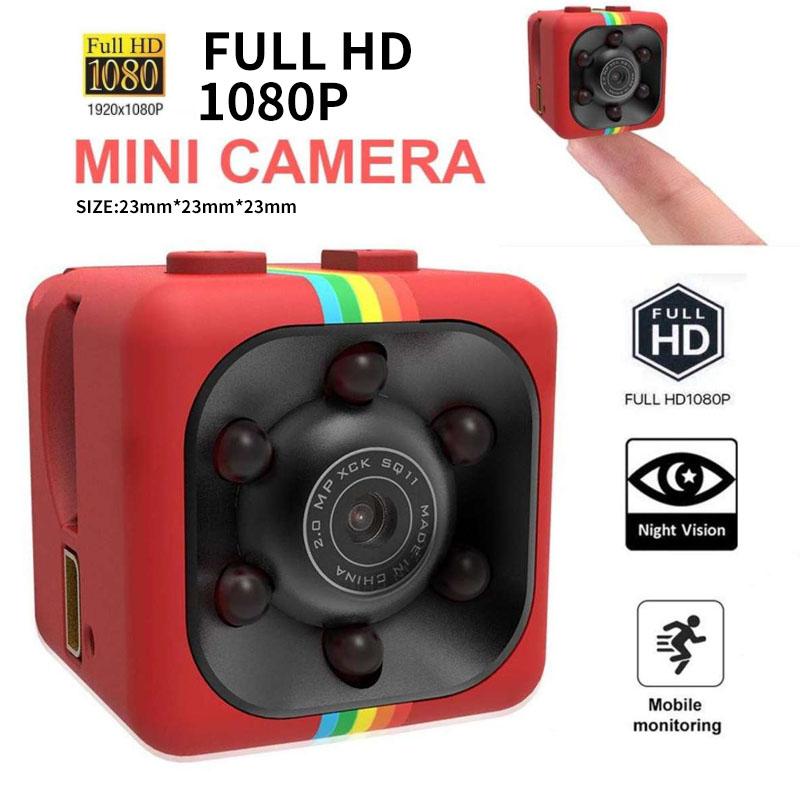 Camera An Ninh Mini sq11 Chính Hãng, Giám Sát Từ Xa, Chất Lượng Hd 1080P, Hỗ trợ tối đa thẻ nhớ 32GB, Kích Cỡ Siêu Nhỏ Và Dùng Cho Gia Đình