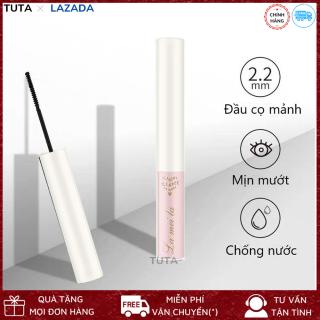 Mascara cọ mảnh chuốt mi Lameila đầu mảnh tơi giúp làm cong dài mi tiện lợi chống thấm nước bền màu lâu trôi độc đáo giúp mắt thu thút CMM thumbnail