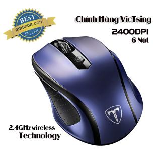 Chuột quang không dây VicTsing MM057 2.4G 2400DPI 6 nút cho PC laptop - Hãng Phân Phối Chính Thức thumbnail