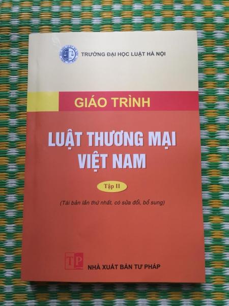 Mua Giáo trình luật thương mại Việt Nam tập 2